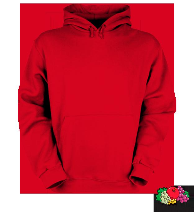 Bazsi - piros kapucnis pulóver 7b32146e56