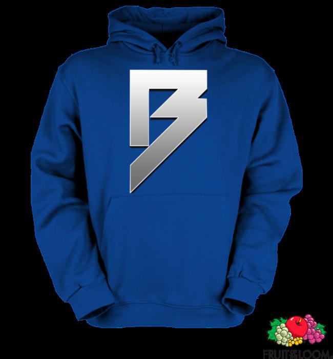 Bazsi - kék kapucnis pulóver 11f03b8905